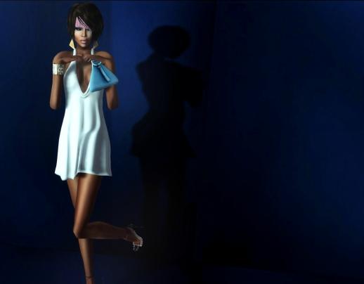 Blue Flirtini